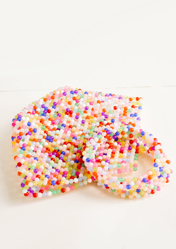 2: Bright Confetti Beaded Bag