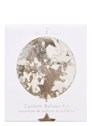 Star Confetti Balloon Kit