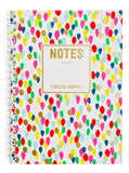Confetti Drops Spiral Notebook - LEIF