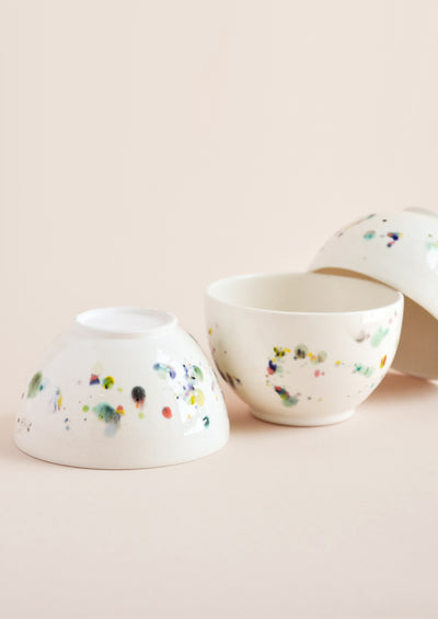 Confetti Ceramic Ice Cream Bowl hover