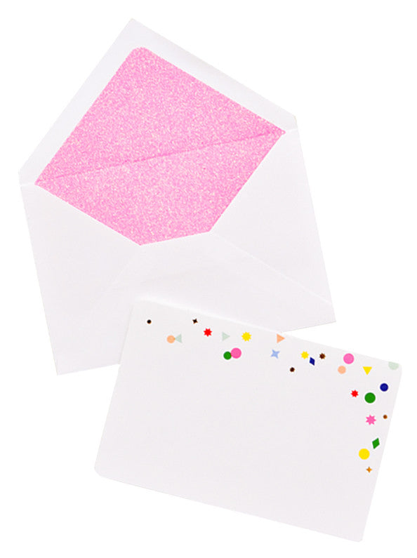 Confetti Notecard Set - LEIF