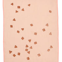 Peach / Copper: Confetti Tea Towel in Peach / Copper - LEIF