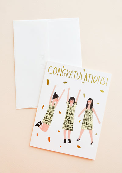 Congratulations Dance Card