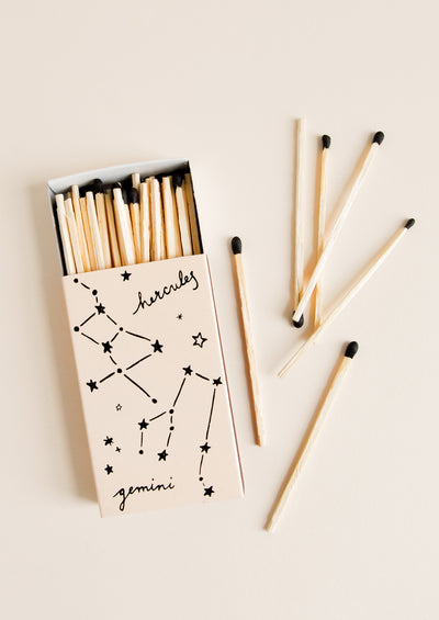 Constellation Print Matchbox