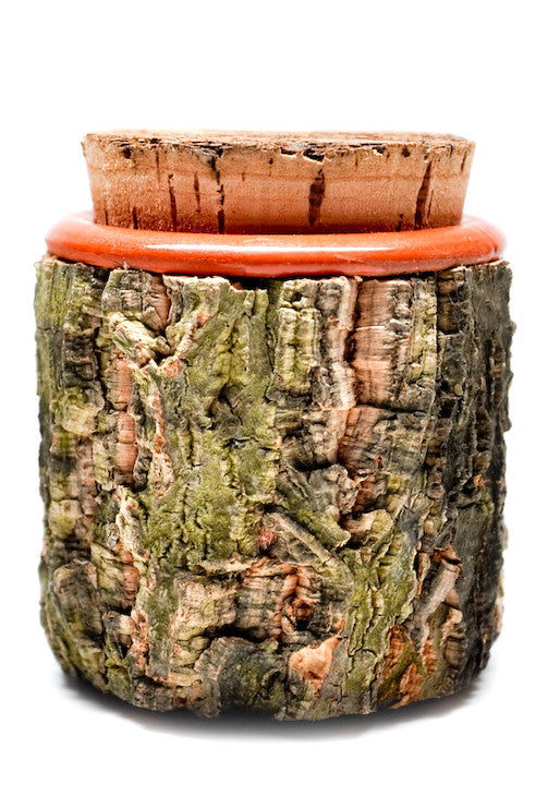 Terracotta & Bark Jar