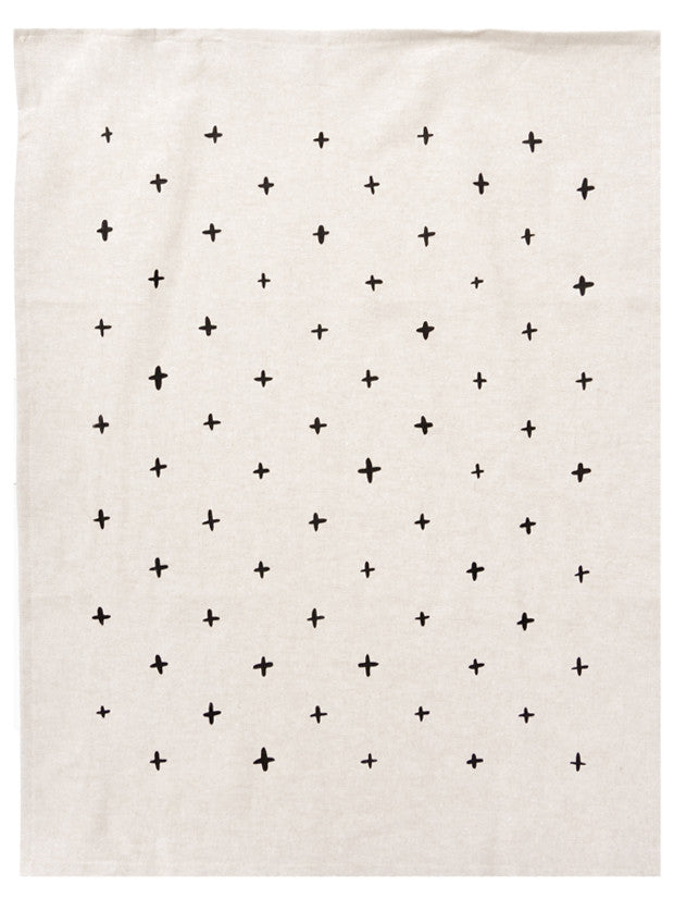 Plus Print Tea Towel - LEIF