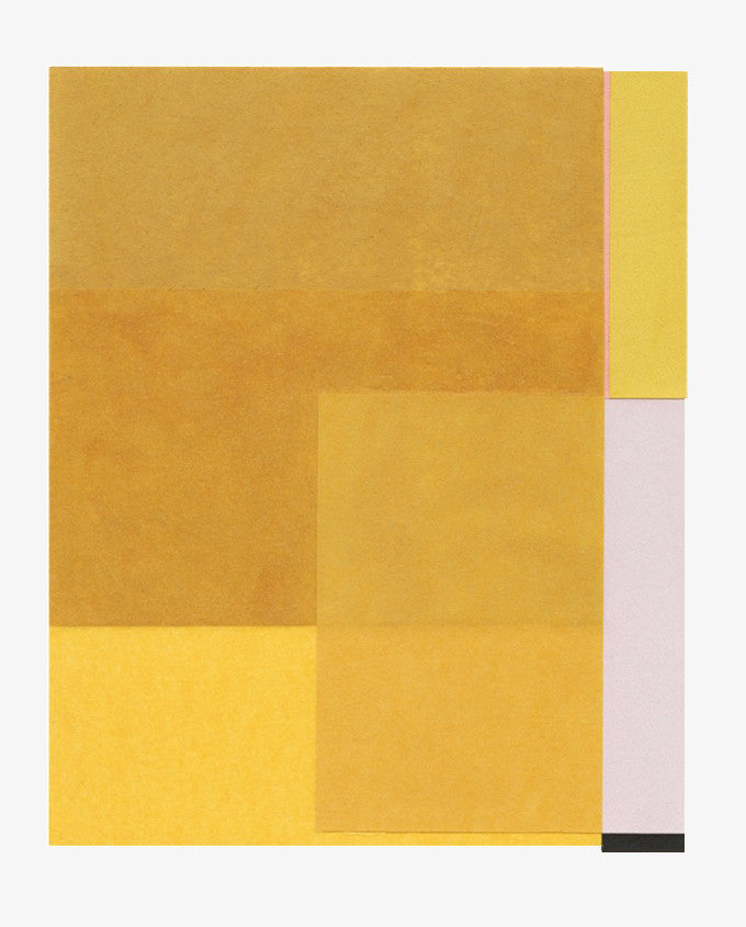 Rectangular Objects Collage, Golden Lilac - LEIF