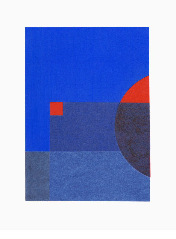 The Blue One Print - LEIF