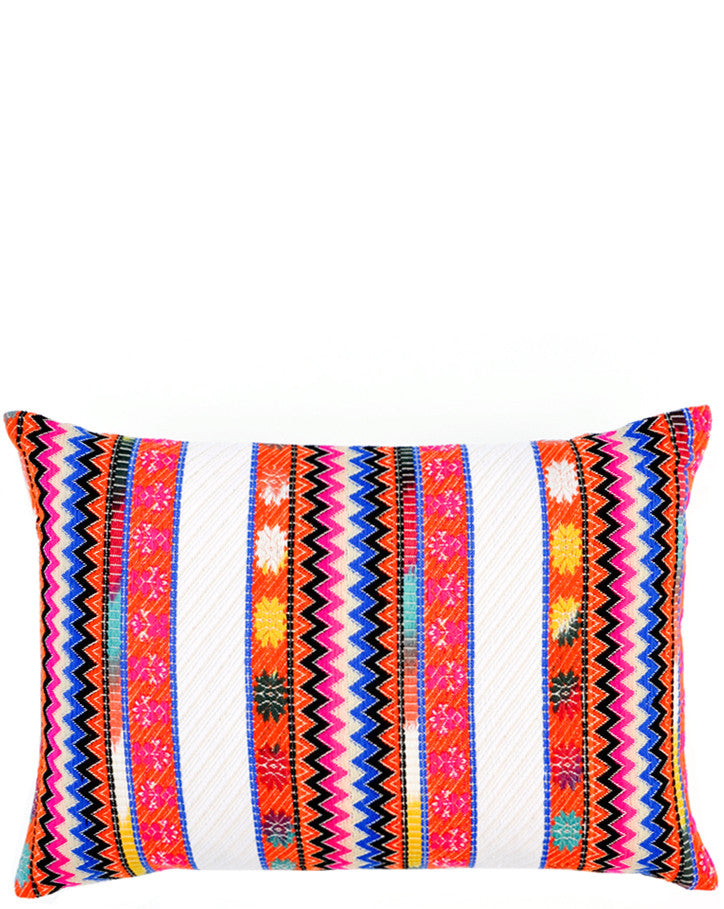 Orange: Coyoacan Pillow in Orange - LEIF