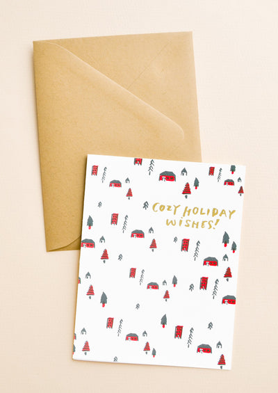 Cozy Holiday Wishes Card Set hover