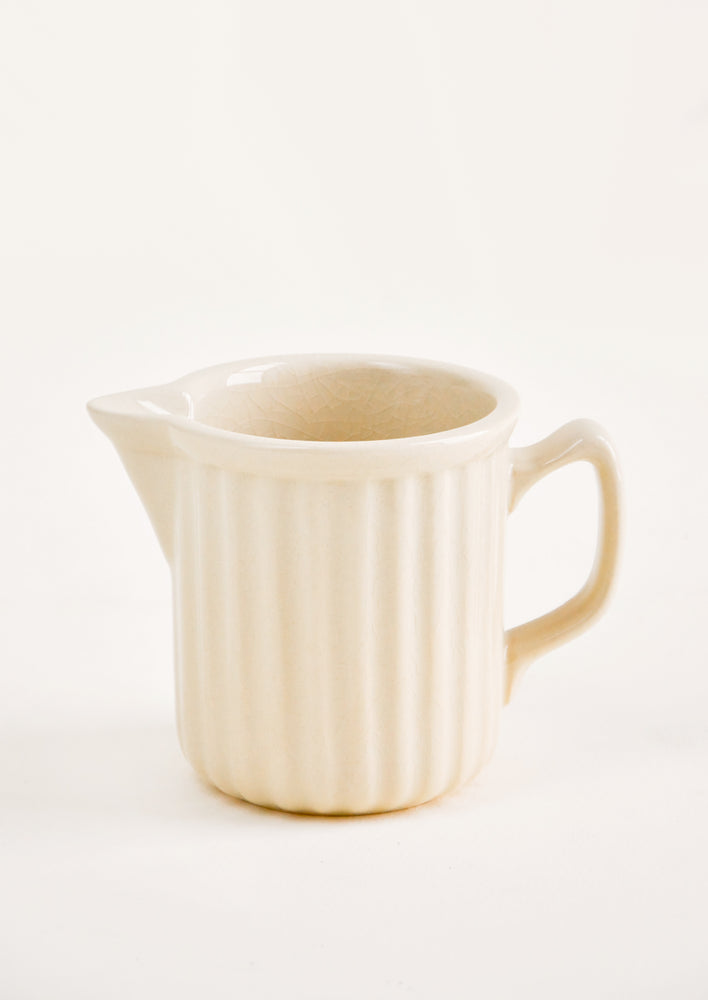 1: Crackle Glaze Ceramic Pitcher