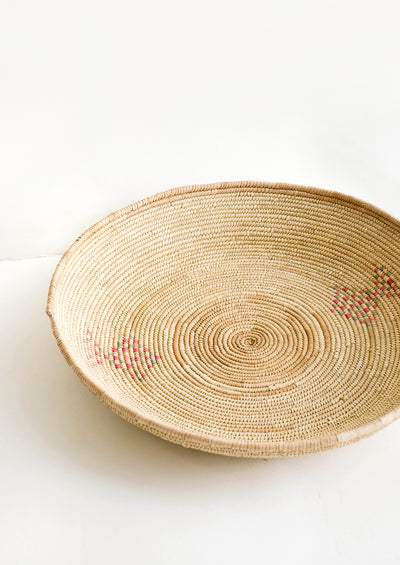 Date Palm Woven Platter hover