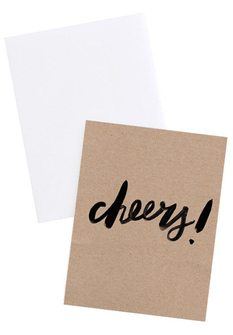 Cheers Kraft Card Set - LEIF