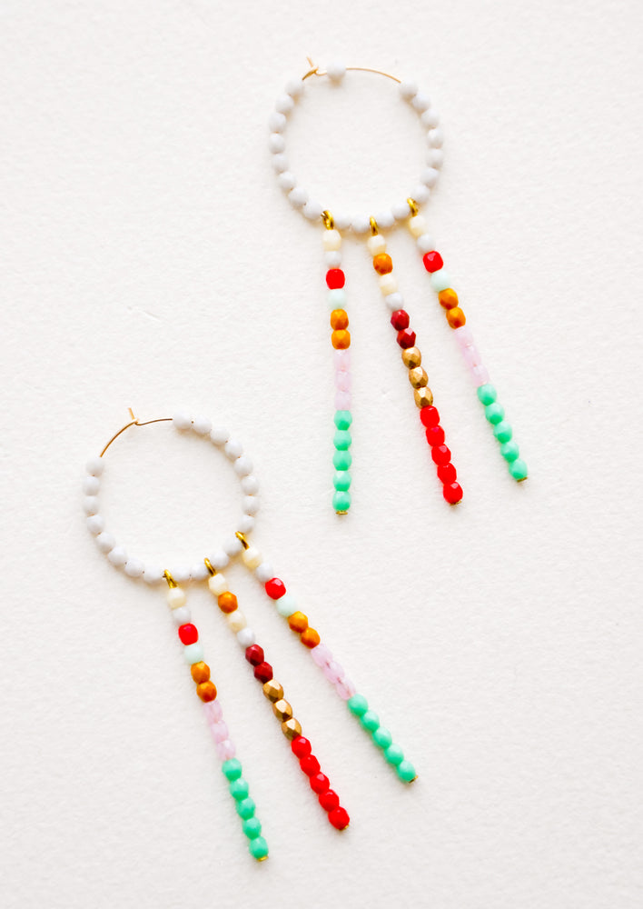 1: Daydreamer Beaded Earrings in  - LEIF