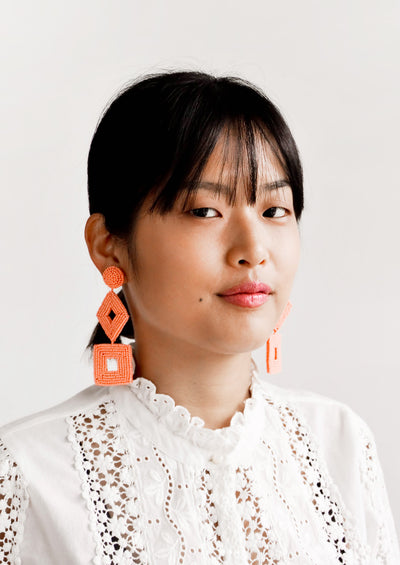 Delano Beaded Earrings hover