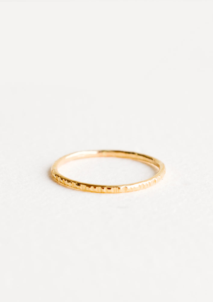 1: Etched Stacking Ring in  - LEIF