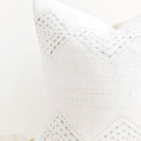 1: Diamante Mudcloth Pillow in  - LEIF