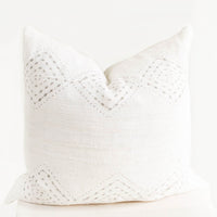 2: Diamante Mudcloth Pillow in  - LEIF