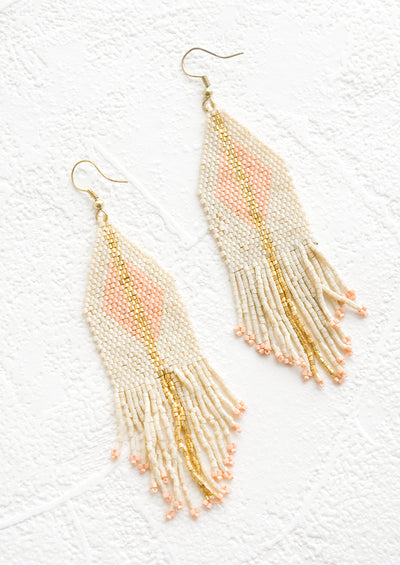 Diamante Beaded Earrings