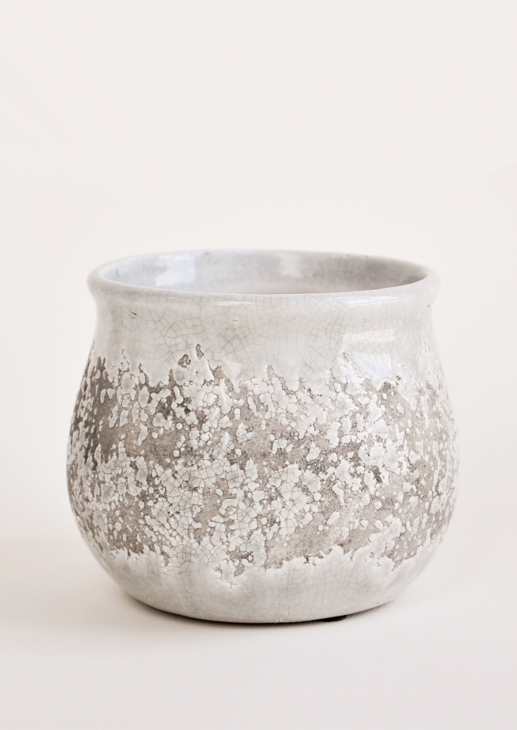 2: Greige Distressed Planter in  - LEIF