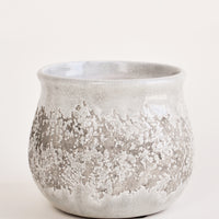 Greige Distressed Planter