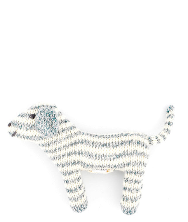 Knit Dog Rattle
