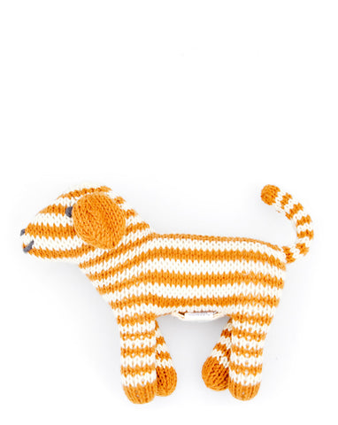 Knit Dog Rattle - LEIF