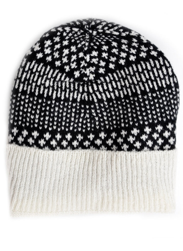 Dash Dot Wool Hat - LEIF