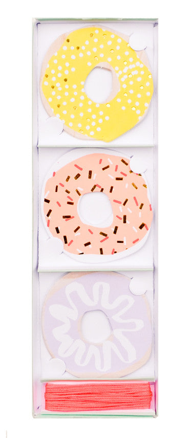 Donut Gift Tags - LEIF