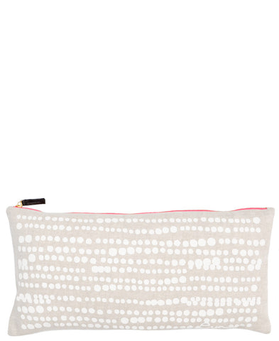 Dot Splatter Linen Pillow