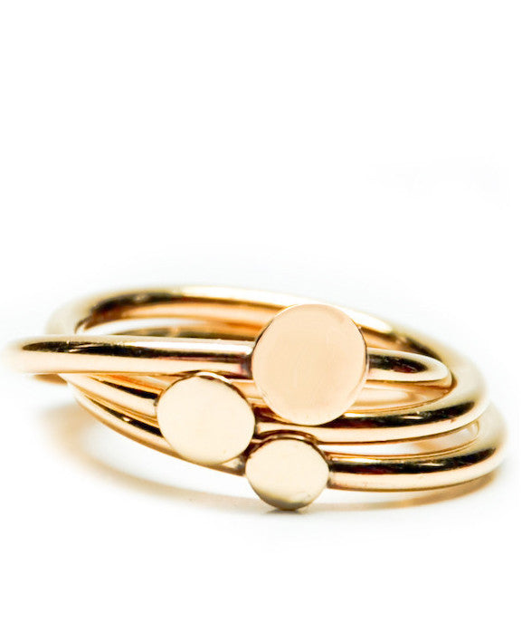 Stacking Dots Ring - LEIF