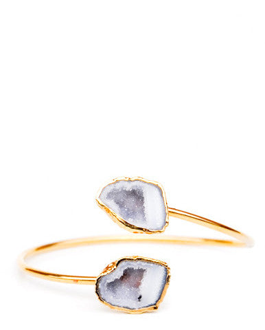 Double Geode Cuff - LEIF