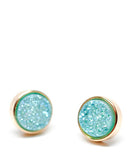 Drusy Dot Stud Earrings - LEIF