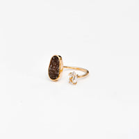 Herkimer Diamond & Drusy Ring - LEIF