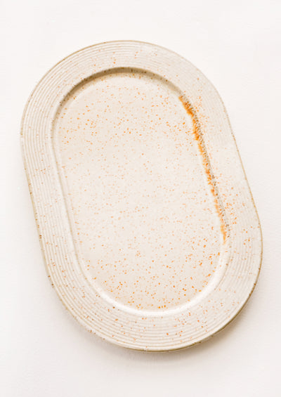 Dune Speckle Ceramic Tray