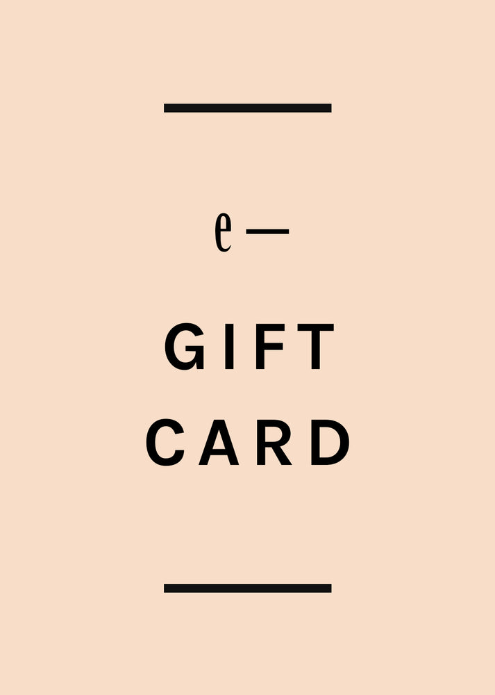 1: e-Gift Card in  - LEIF