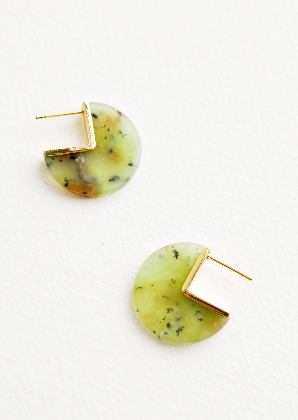 Earthling Chrysoprase Earrings