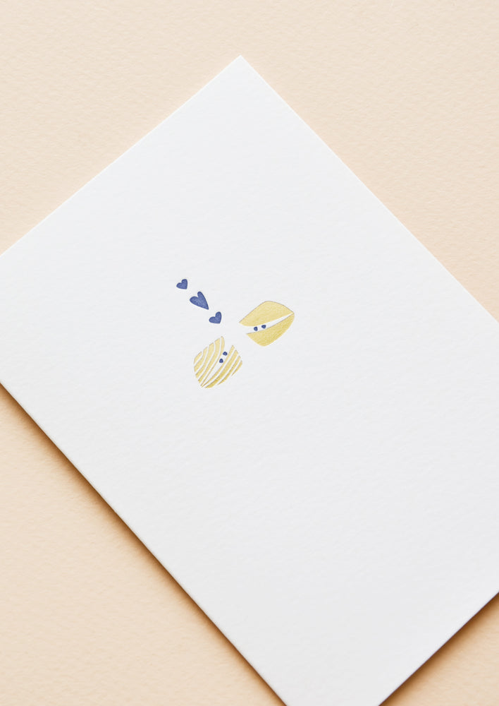 Clams in Love Card