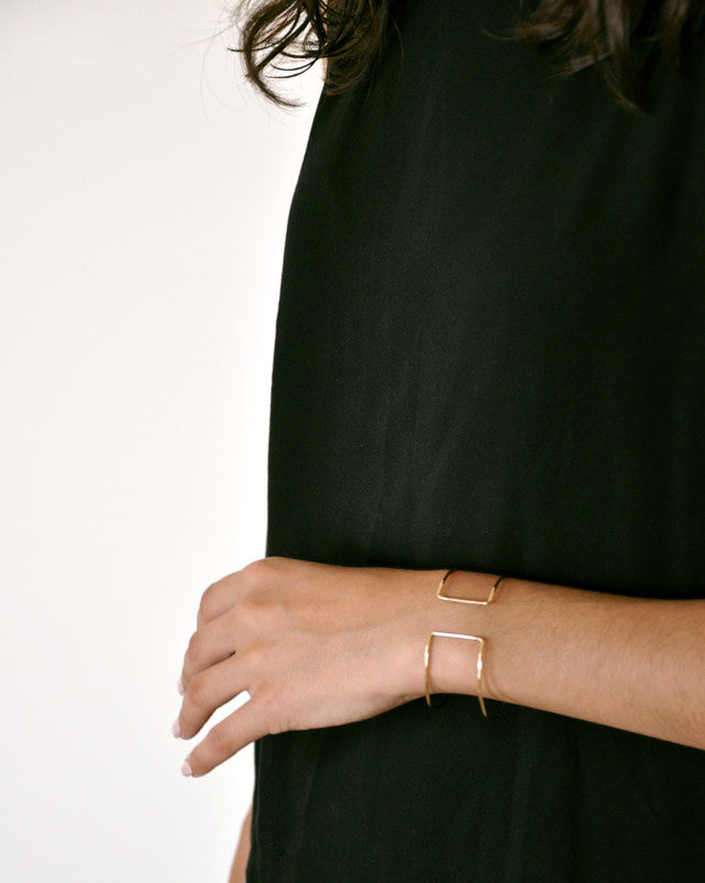 2: 'Eileen Gray' Cuff in  - LEIF