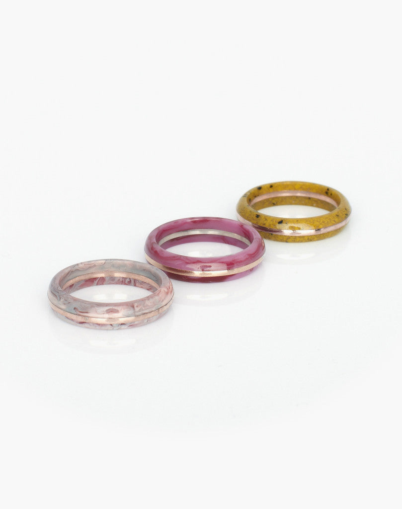 Orbit Stacking Ring Set