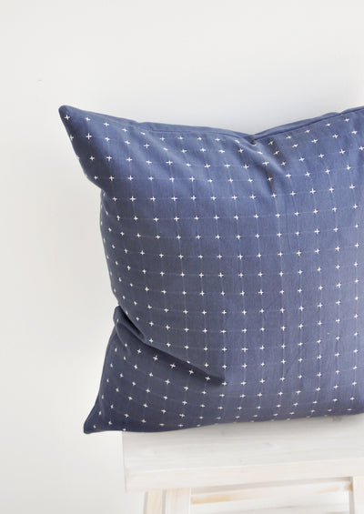 Embroidered Cross Pillow hover