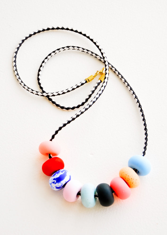 9 Bead [$48.00]: Kahlo Necklace in 9 Bead [$48.00] - LEIF