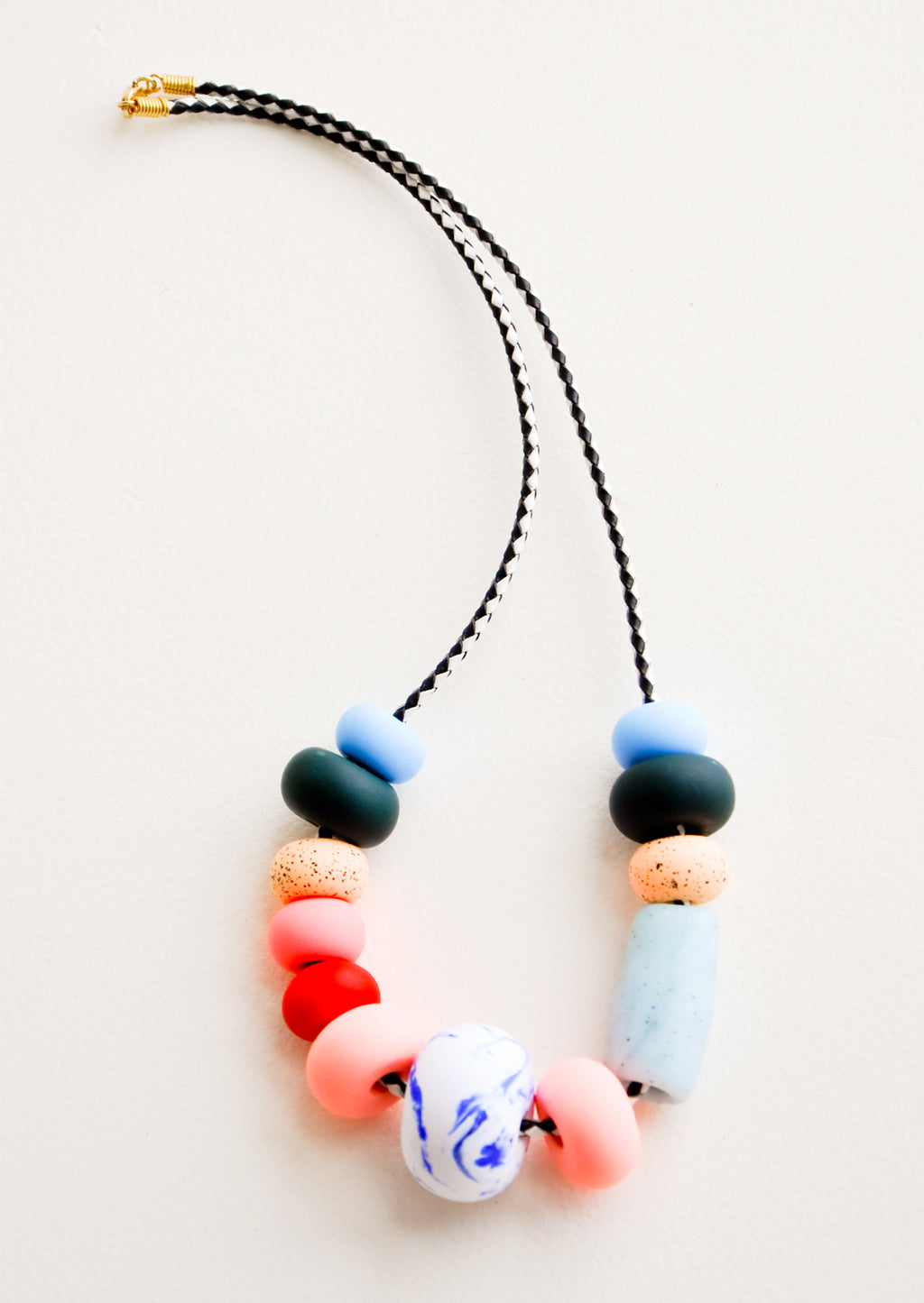 Big Bead [$72.00]: Kahlo Necklace in Big Bead [$72.00] - LEIF