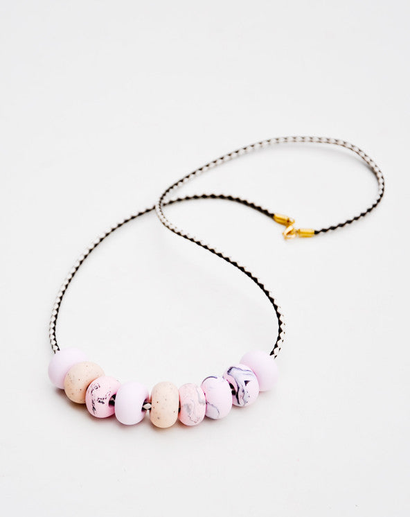 Marbled Marmo Necklace - LEIF
