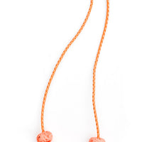 Mandarin: Speckled Messina Necklace in Mandarin - LEIF