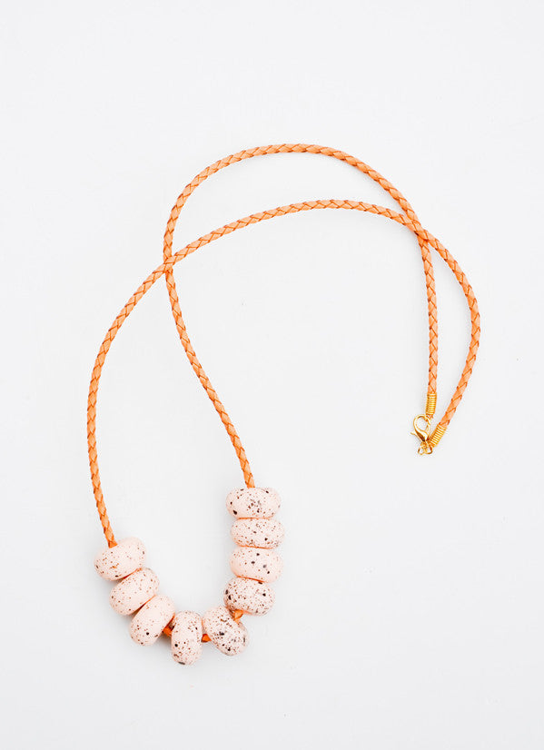 4: Speckled Messina Necklace in  - LEIF