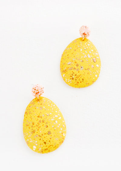 Terrazzo Drop Earrings