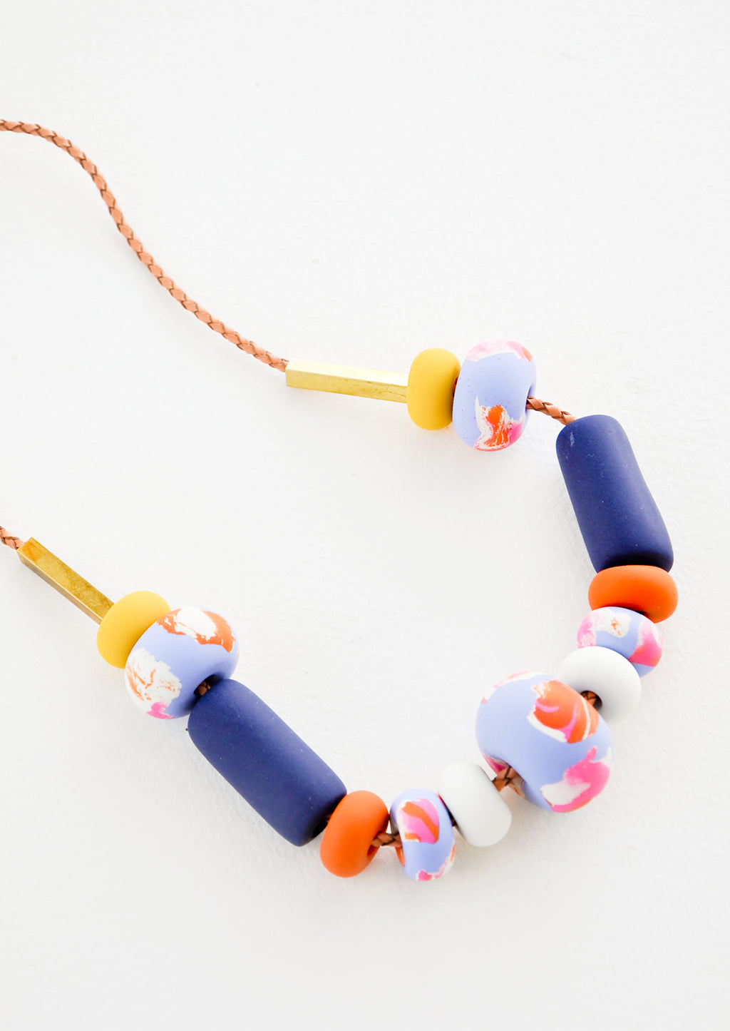 Wisteria Big Bead Necklace