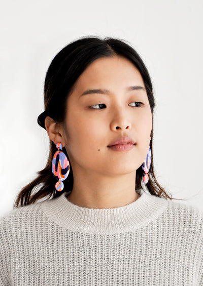 Wisteria Drop Earrings hover