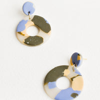 Translucent Multi: Emma Jean Earrings in Translucent Multi - LEIF